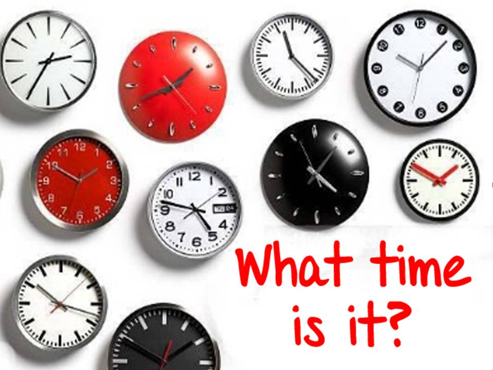 What is the time - Part 1
