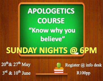 Apologetics - Part 1