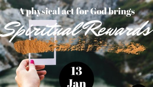 A Physical Act For God Brings Spiritual Rewards