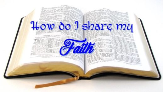 How to share my faith