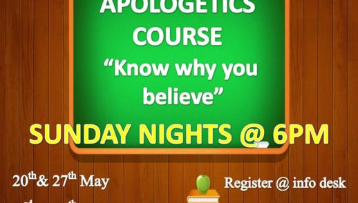 Apologetics - Part 4