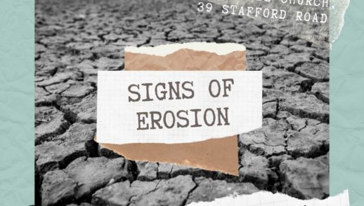 Signs Of Erosion