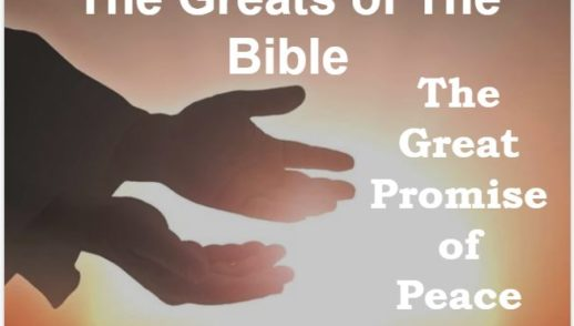 The Promise of Great Peace