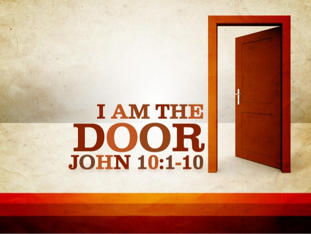 Metaphors of Christ: I am the Door